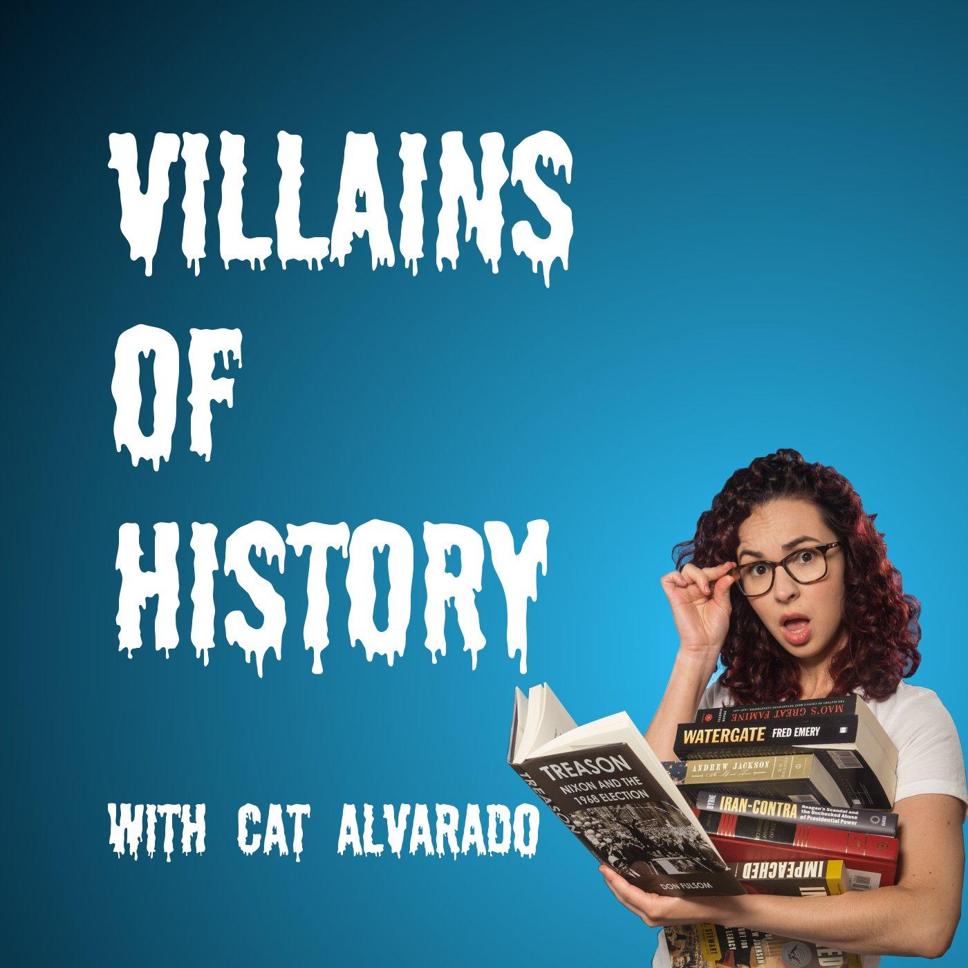 Villains of History show art