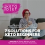 Artwork for 7 Solutions for Keto Beginners with Ali Miller