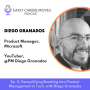 Artwork for How To Break Into Product Management in Tech, with Diego Granados