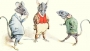 Artwork for Complete Version of Three Blind Mice by John W. Ivimey