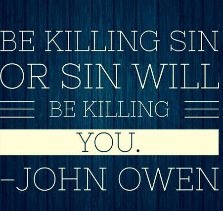Be Killing Sin...