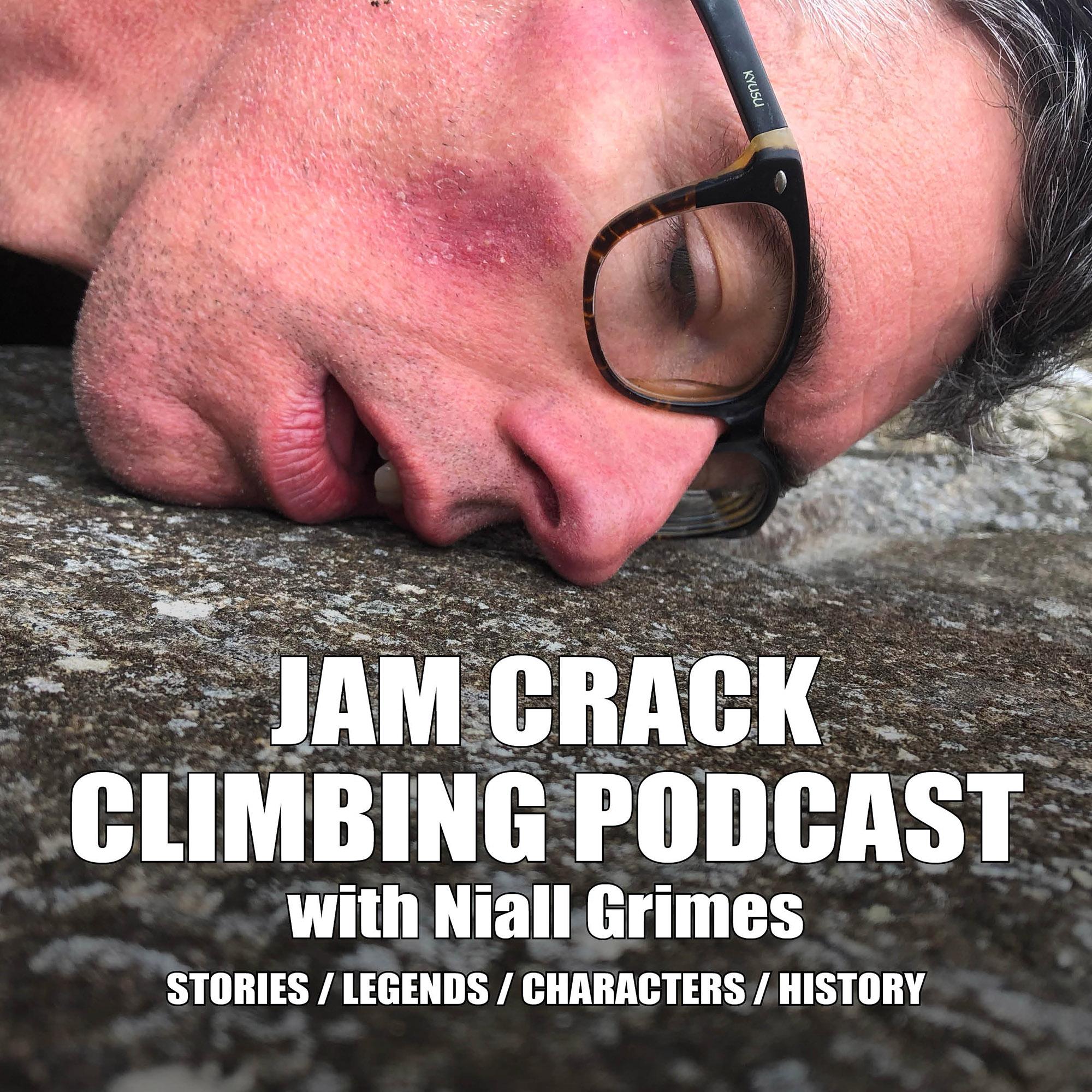 Jam Crack - The Niall Grimes Climbing Podcast show art