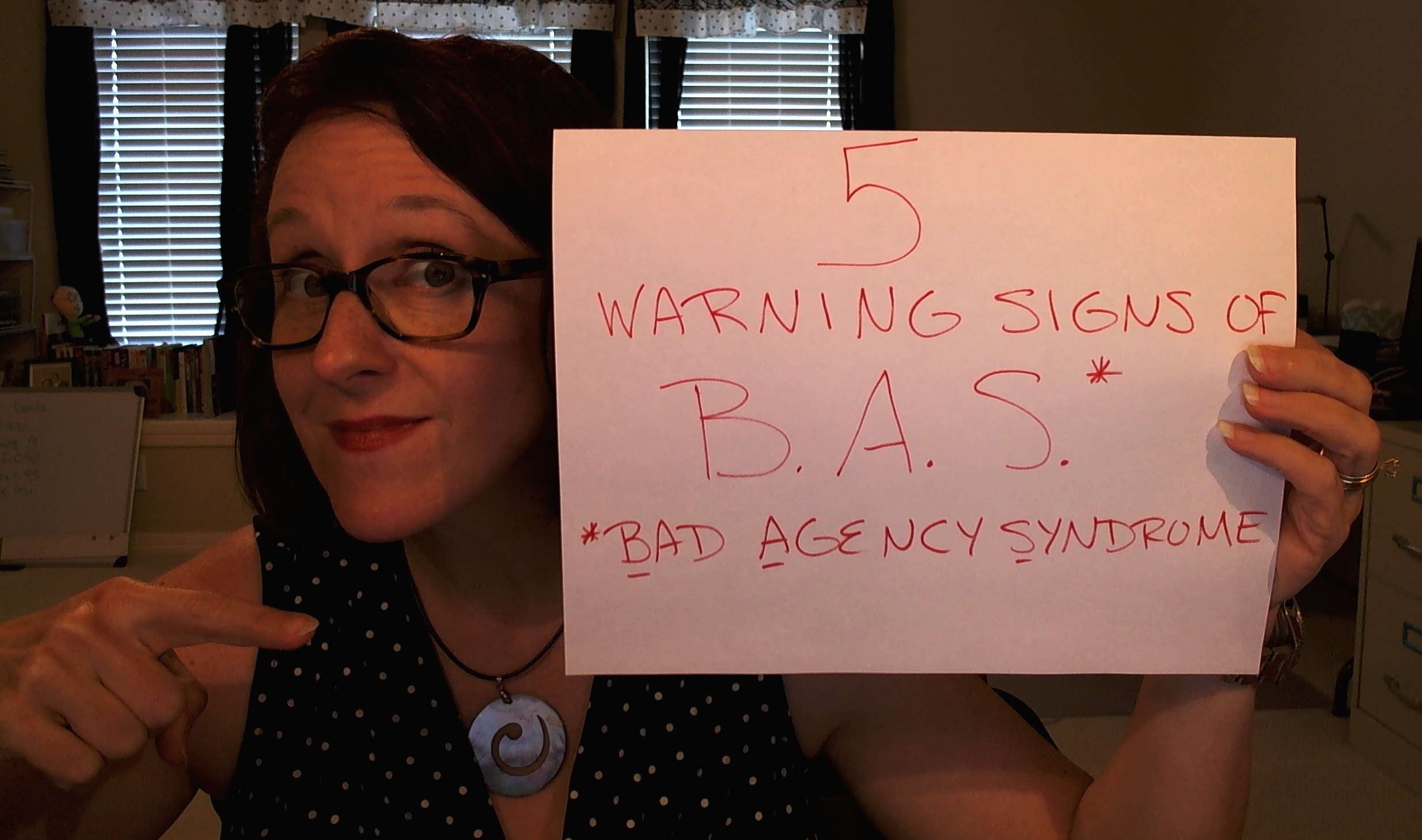 Content Marketing Podcast 174: 5 Warning Signs of B.A.S. (Bad Agency Syndrome)