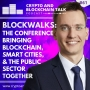 Artwork for BLOCKWALKS: The conference bringing blockchain, smart cities, & the public sector together #61