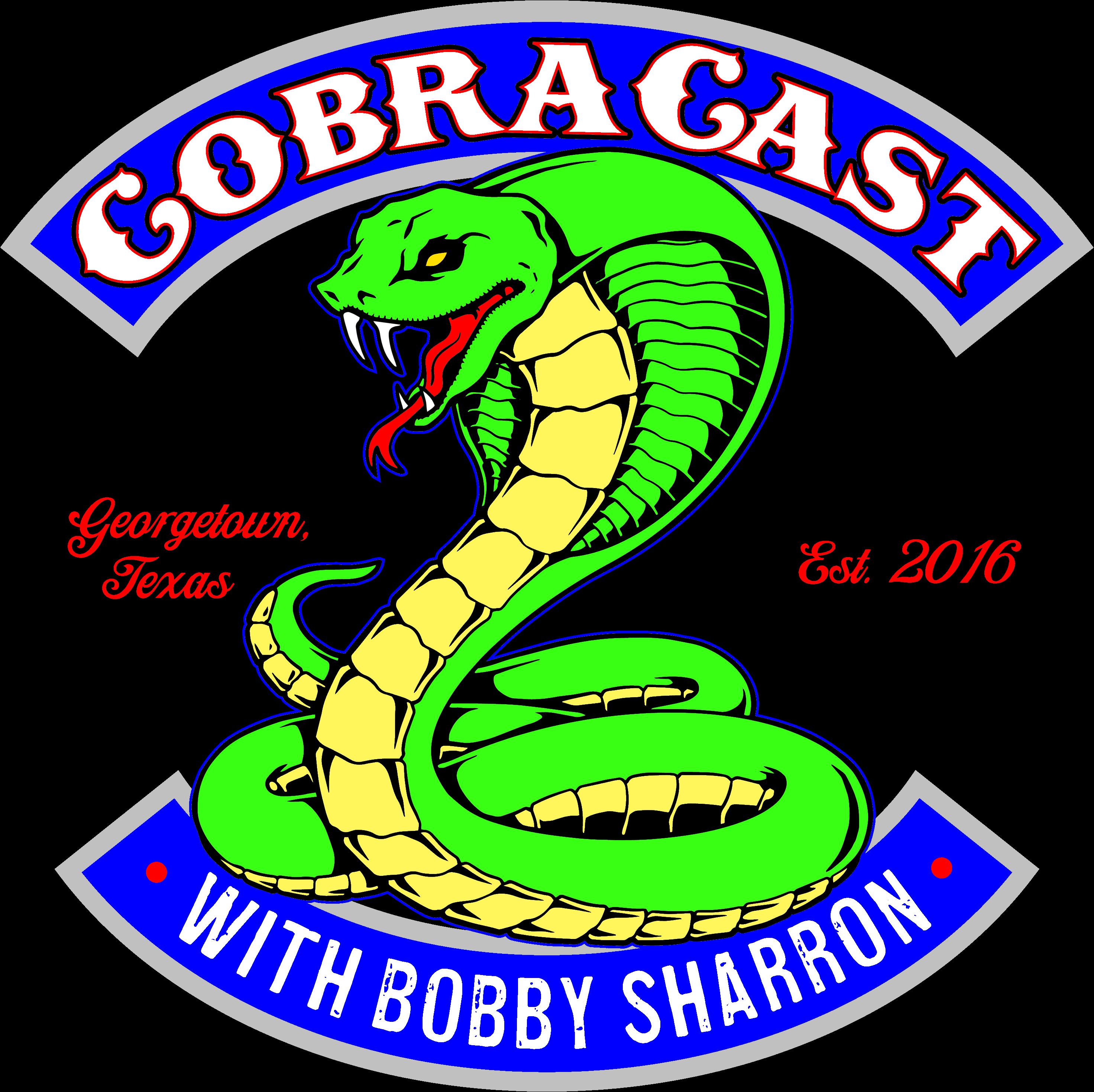 CobraCast Podcast with Bobby Sharron show art