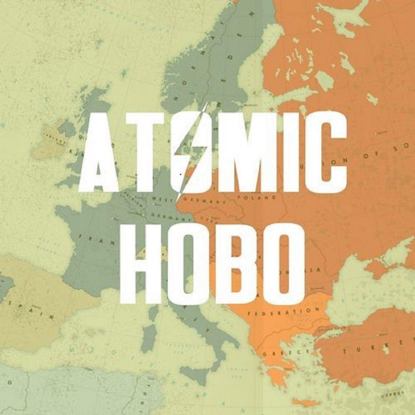 The Atomic Hobo show art