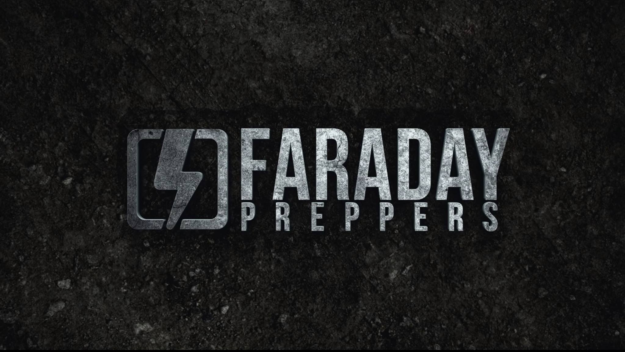 Faraday Preppers Banner Design