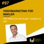 Artwork for #97 - Videomarketing fur Makler - Interview mit Frank Leitgeb