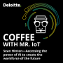 Artwork for Coffee with Mr. IoT: Sean Hinton – Accessing the power of AI to create the workforce of the future
