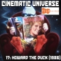 Artwork for Episode 17: Howard the Duck (1986)