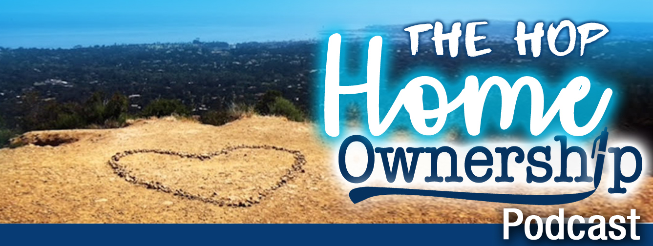 The HOP (Home Ownership Podcast, Episode 6), Low Interest Rates and Good Surf show art