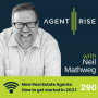 Artwork for New Real Estate Agents: How to get started in 2021 - Episode 290
