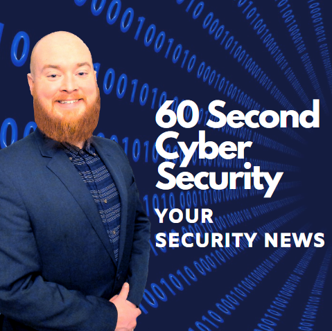 60 Second Cyber Security show art