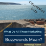 Artwork for Ep 79: What Do All these Marketing Buzzwords Mean?