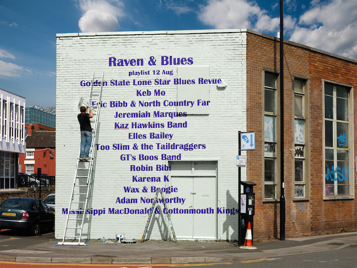 Raven and Blues 12 Aug 2016