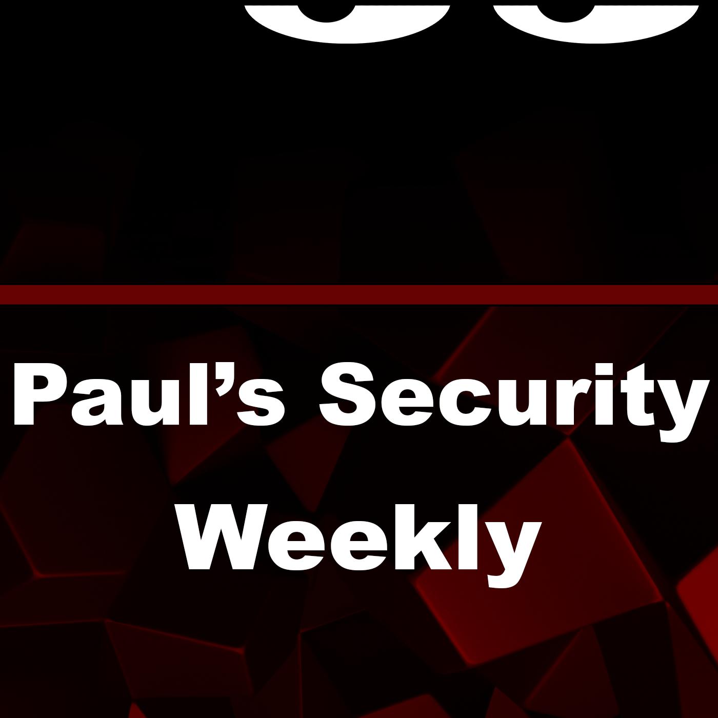Paul's Security Weekly TV show art
