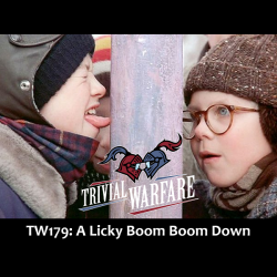 Trivial Warfare Trivia TW179 A Licky Boom Down