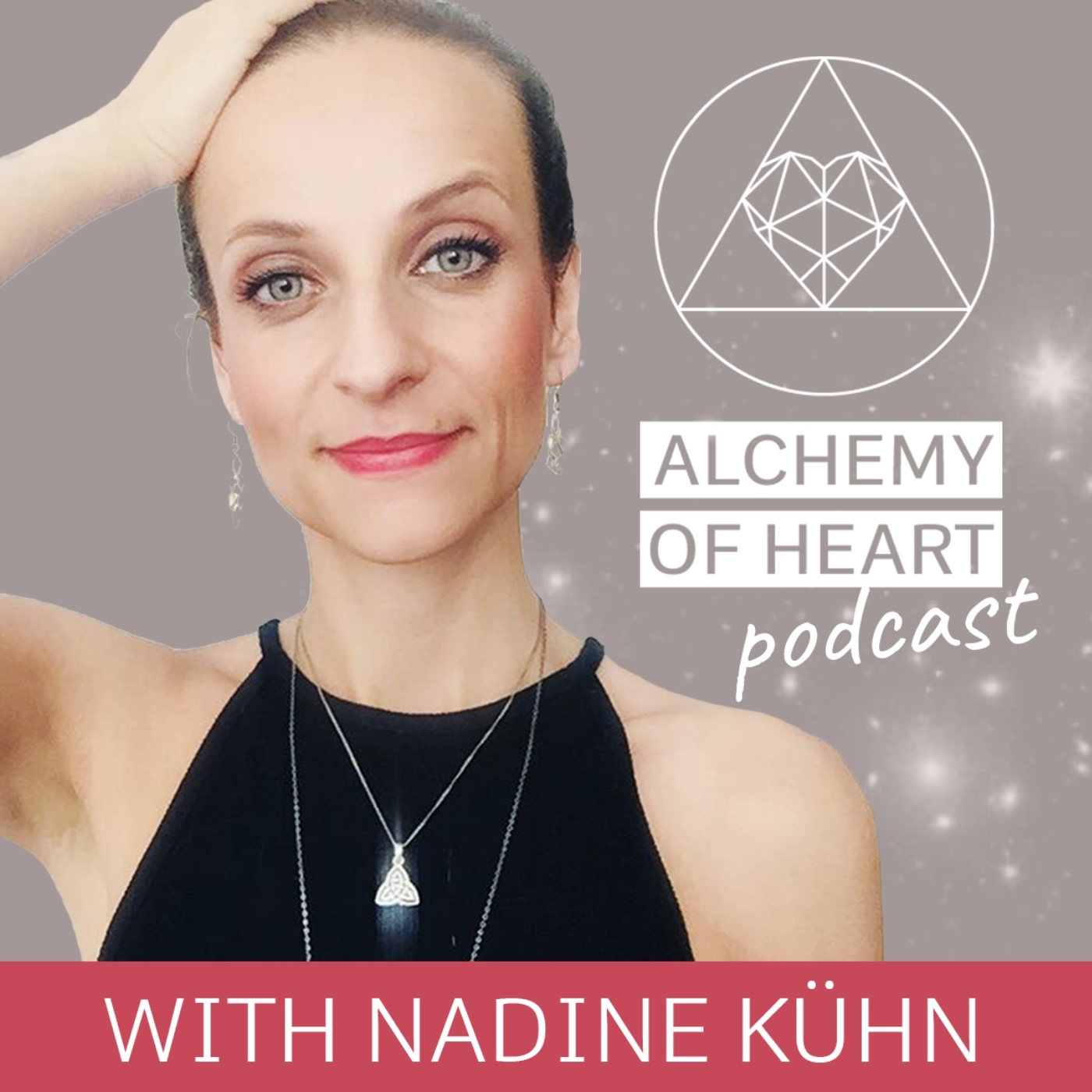 Alchemy of Heart Podcast show art