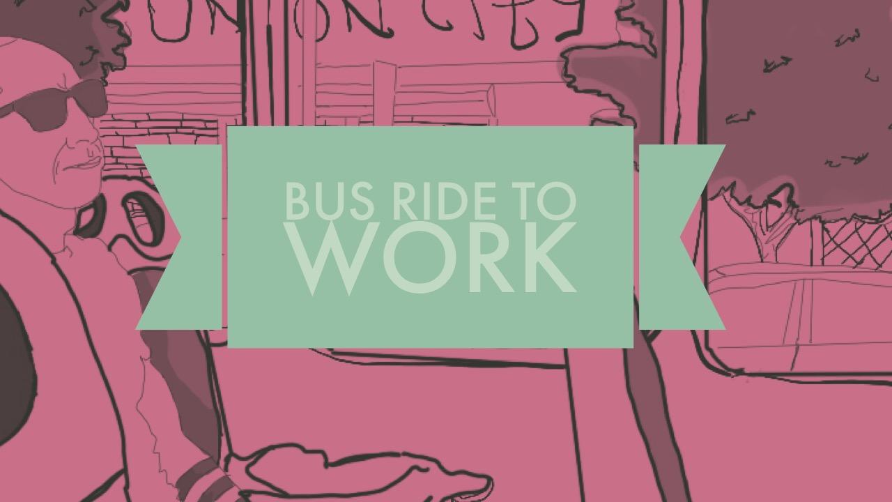 Artwork for Bus Ride to Work-ARTWORK-V I D E O