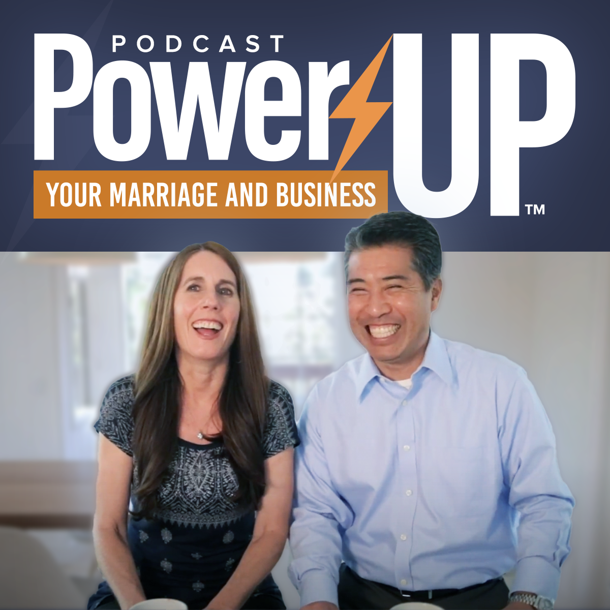 Power Up Your Marriage and Business show art
