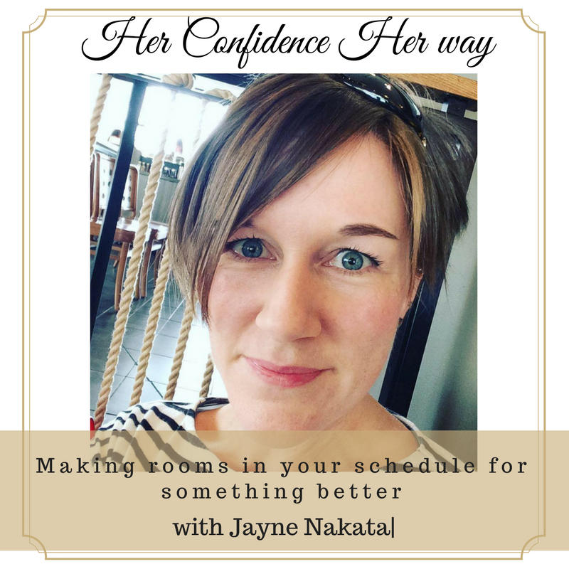 Artwork for 046: Making room in your schedule for something better with Jayne Nakata