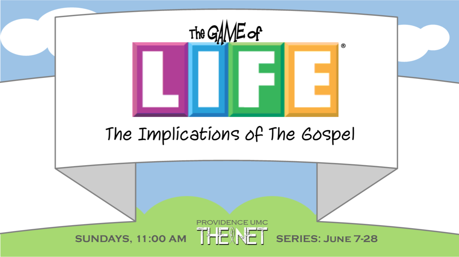 "The Net Sermon ""The Gospel and the Blood"""