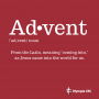 Artwork for Advent Sunday Eve (EXTRA): You Don't Have to be Afraid, Little Bear - Pastor Mark Van Haitsma