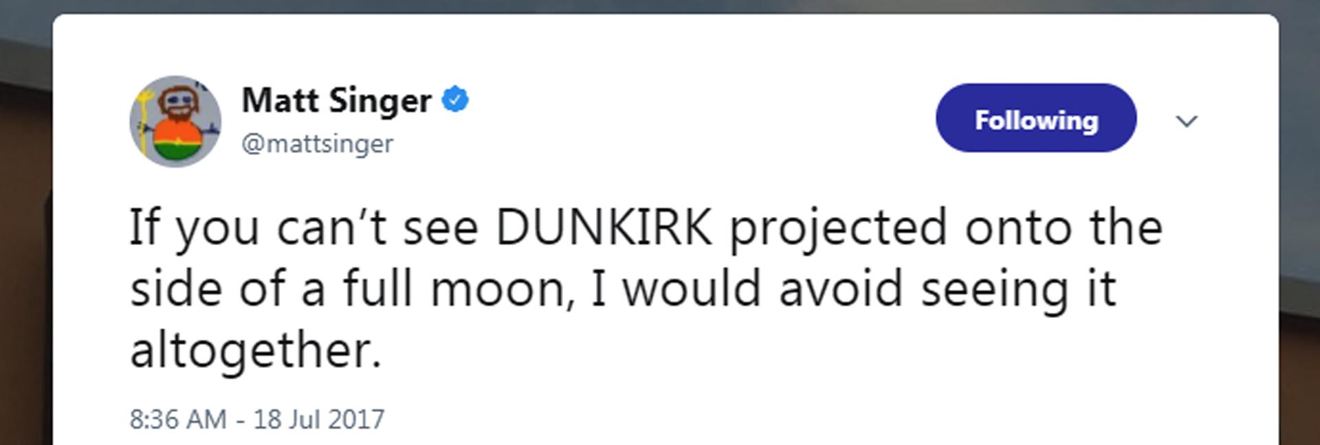 Dunkirk Moon