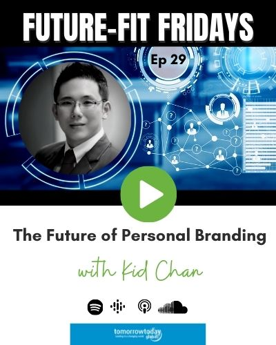 The Future of Personal Branding with Kid Chan show art