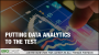 Artwork for Putting Data Analytics To the Test