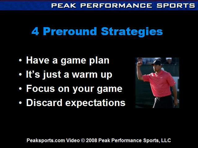 Artwork for Four Pre-Round Mental Preparation Strategies for Golfers