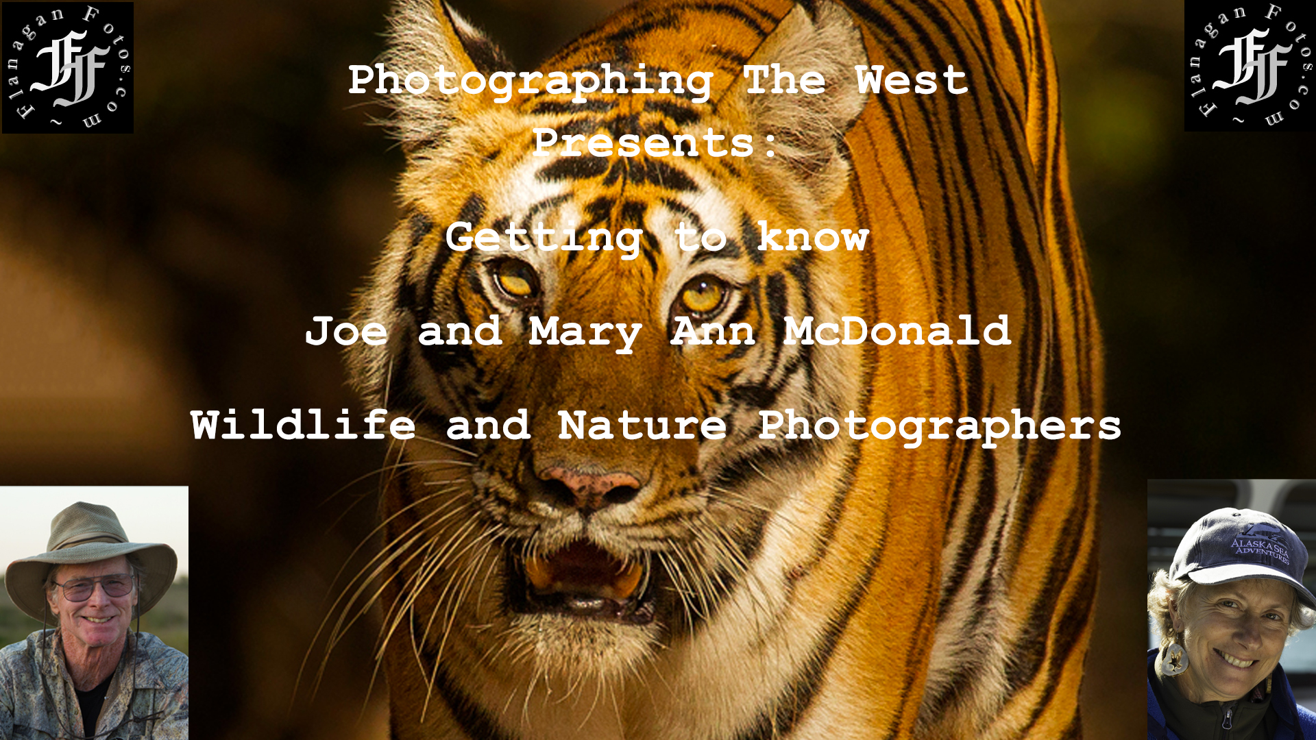 Artwork for Getting To Know Wildlife Photographers Joe and Mary Ann McDonald