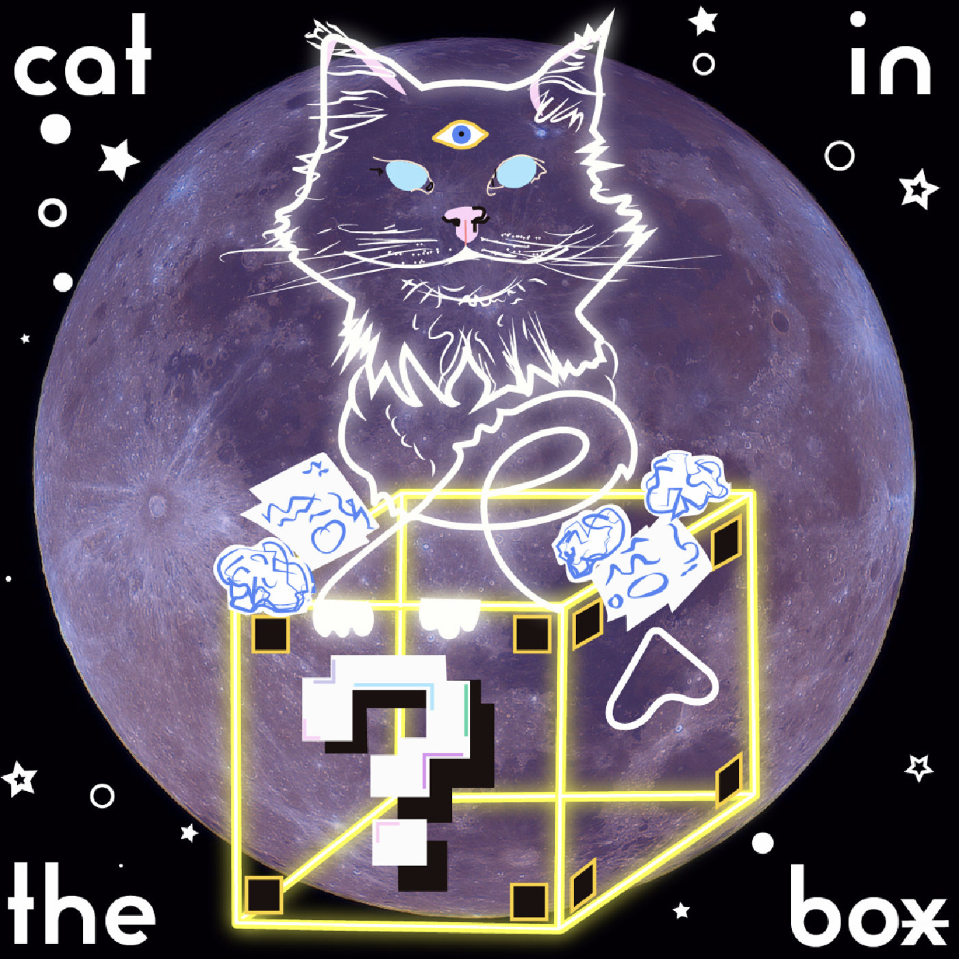 Cat in The Box - A Podcast On Remote Viewing show art
