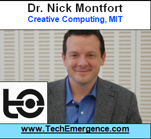 "Computers Do Their Own Kind of ""Creative,"" Not Like Ours - with MIT's Nick Montfort"