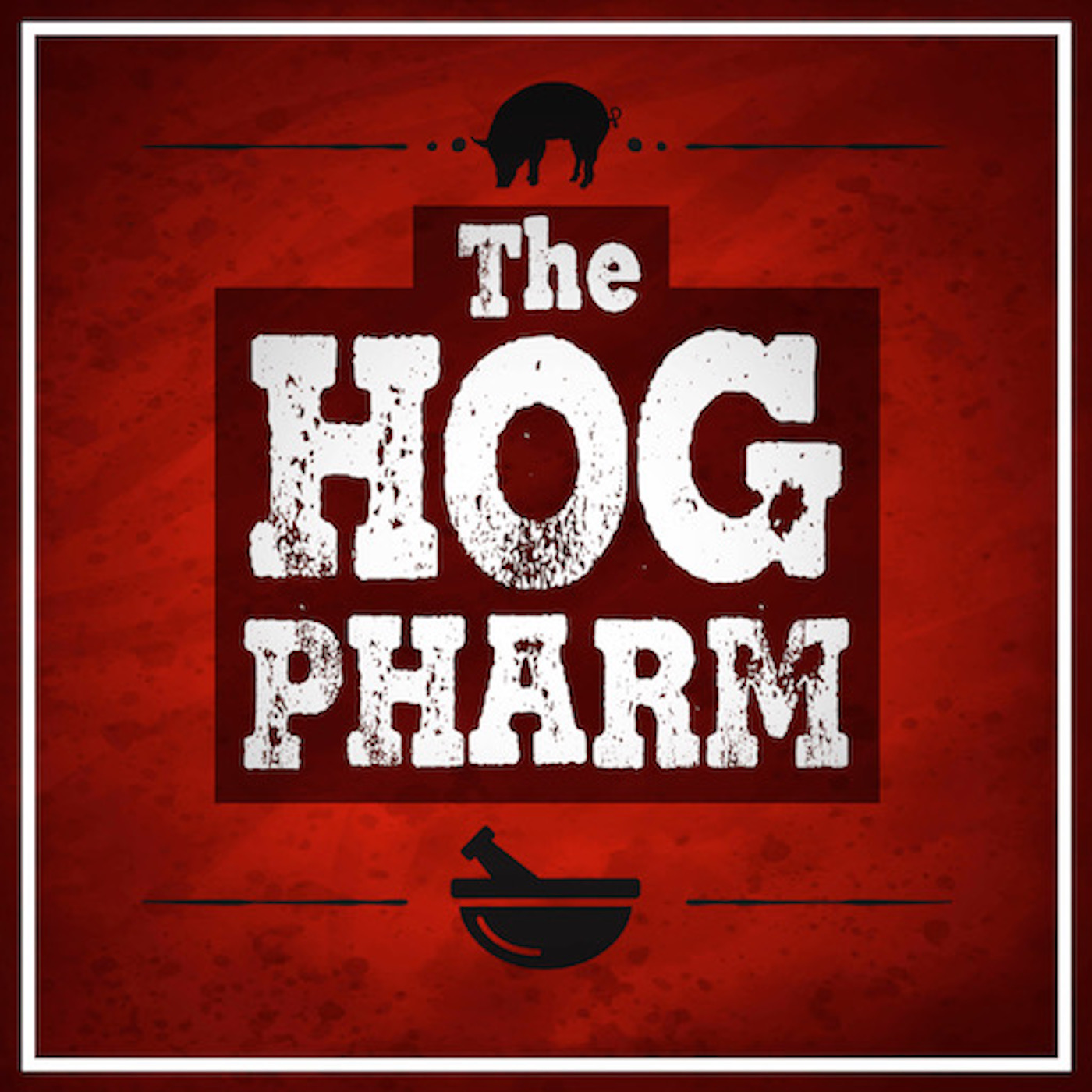The Hog Pharm show art