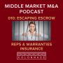 Artwork for MM M&A 010: Escaping escrow - Reps & Warranty Insurance