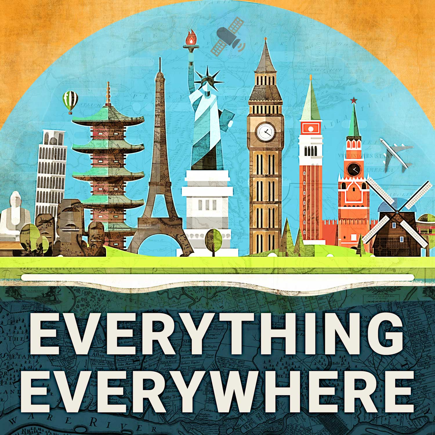 Everything Everywhere Daily History Podcast show art