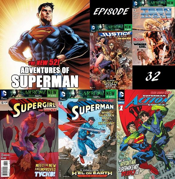 32 Supergirl Superman 13 Action Comics Annual 1