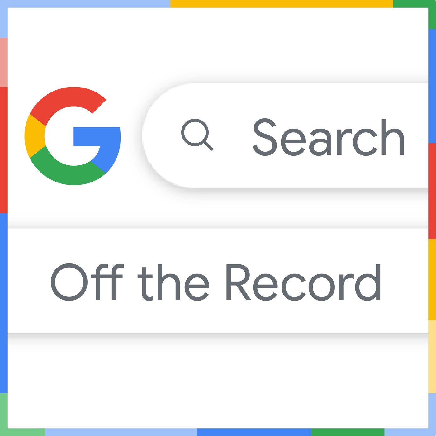 Search Off the Record show art