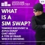 Artwork for What is a Sim Swap? Join Aviva Ounap and Tomoko Discovery as we explore this type of growing fraud. #79
