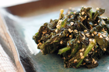 Sesame Soy Spinach
