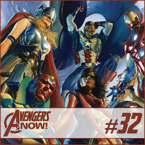 Cultural Wormhole Presents: Avengers Now! Episode 32