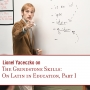 Artwork for The Grindstone Skills: On Latin in Education, Part I