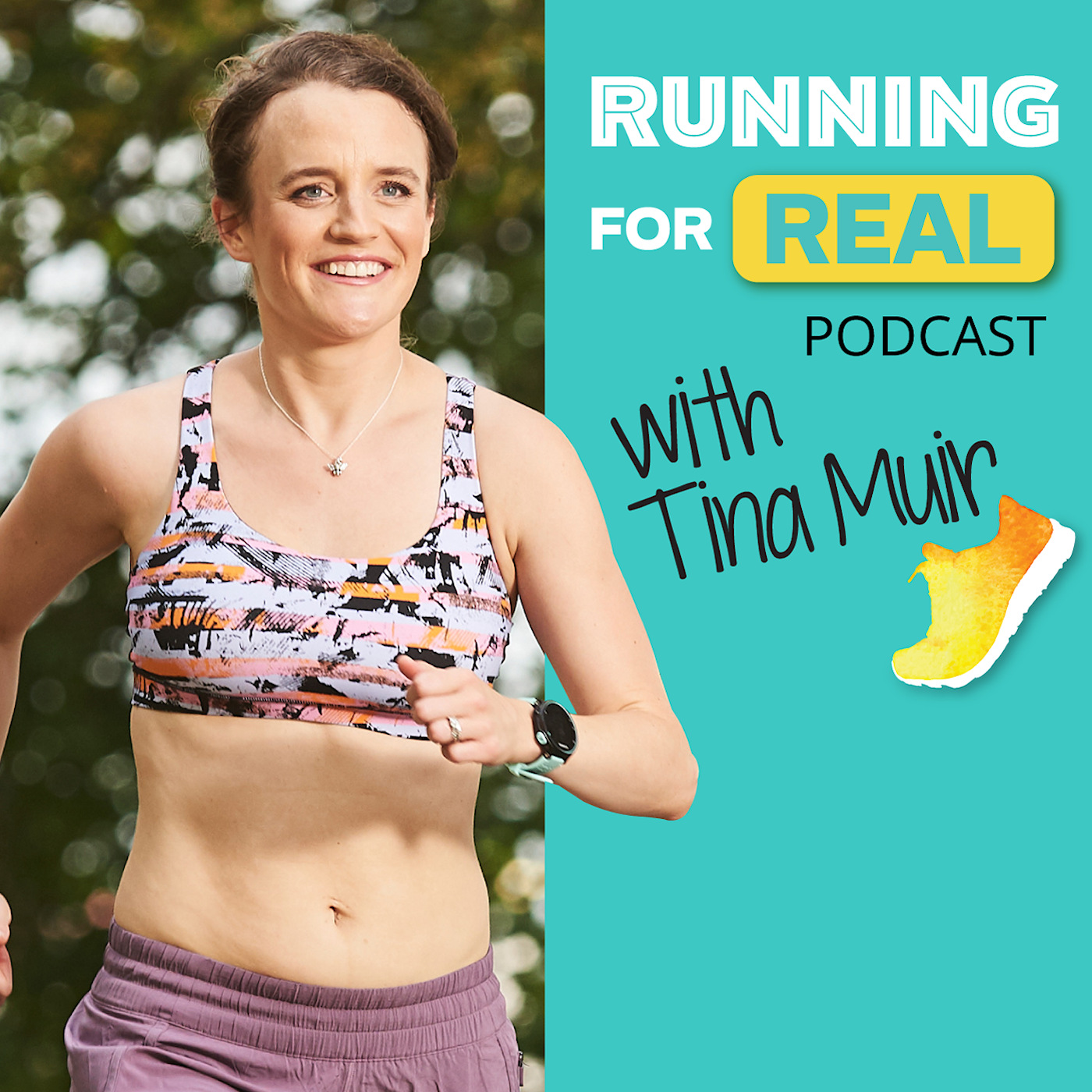 Artwork for Steph Bruce: Building Grit in Your Running and Life-R4R 093