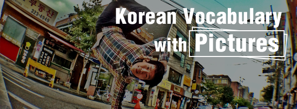 Korean Vocabulary with Pictures - #7