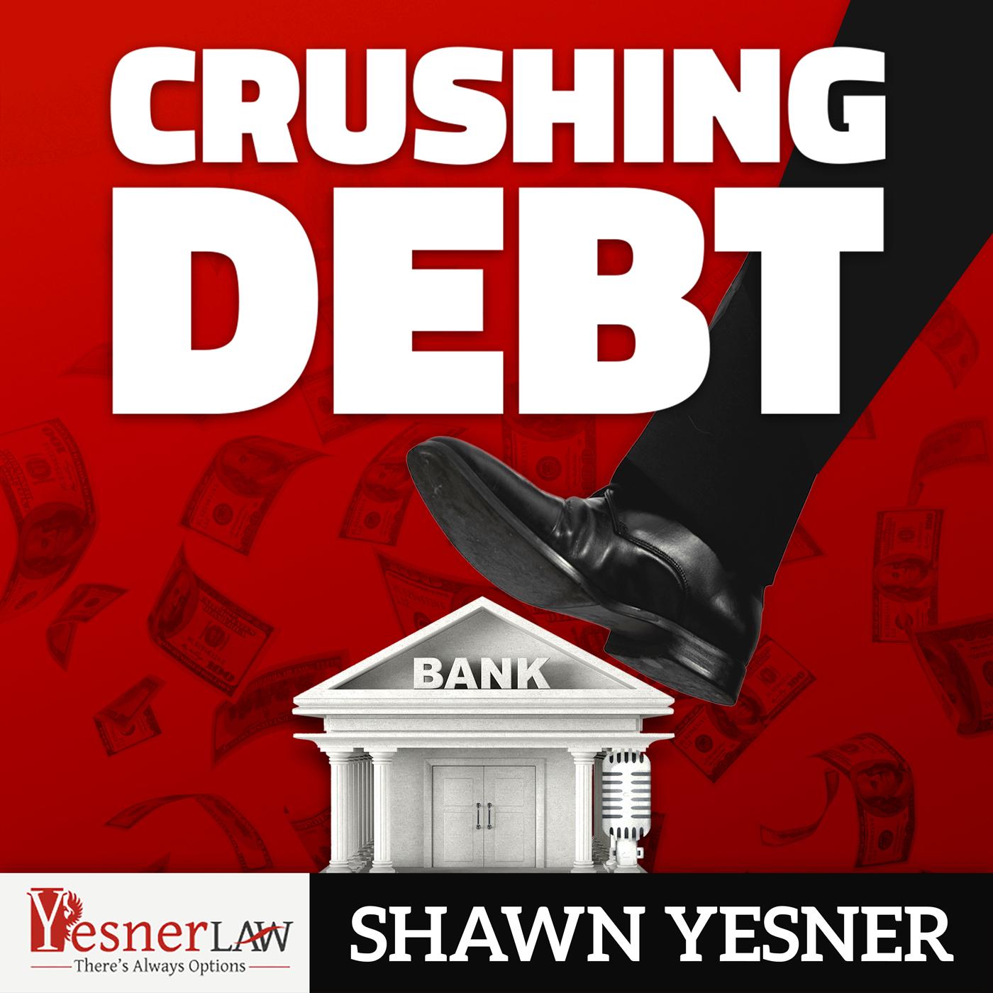 Crushing Debt Podcast show art