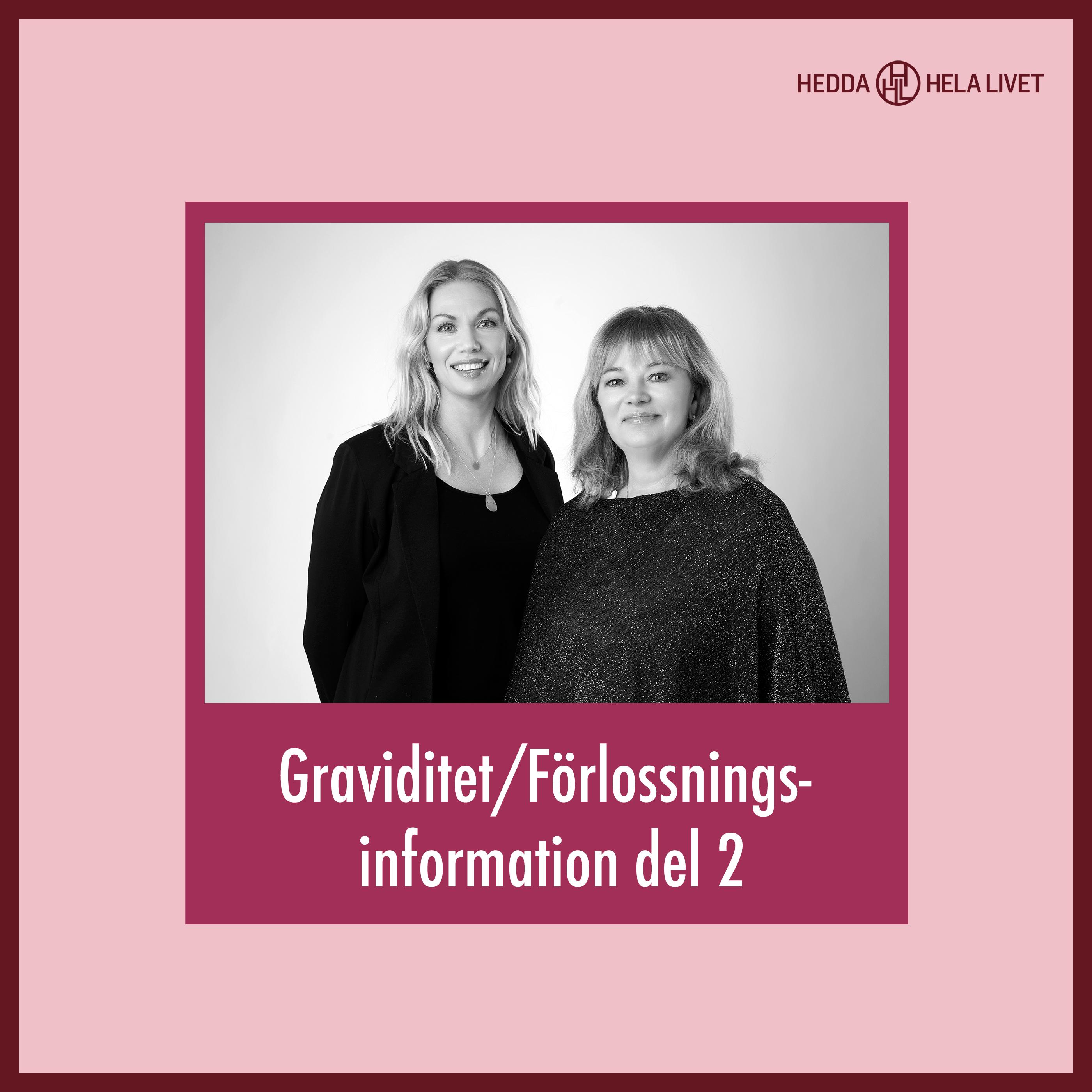 3. Graviditet/Förlossnings information del 2