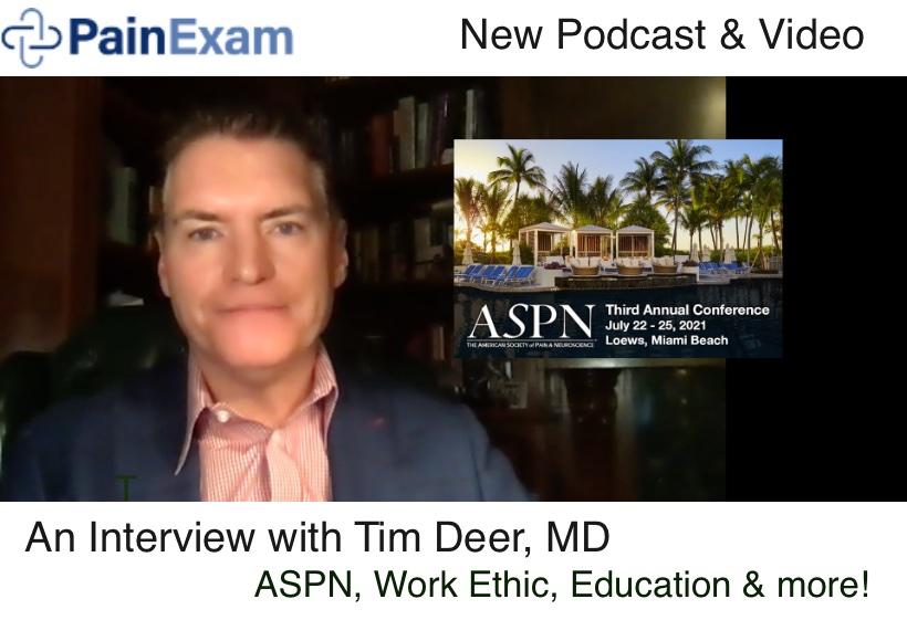 David Rosenblum, MD and Tim Deer, MD