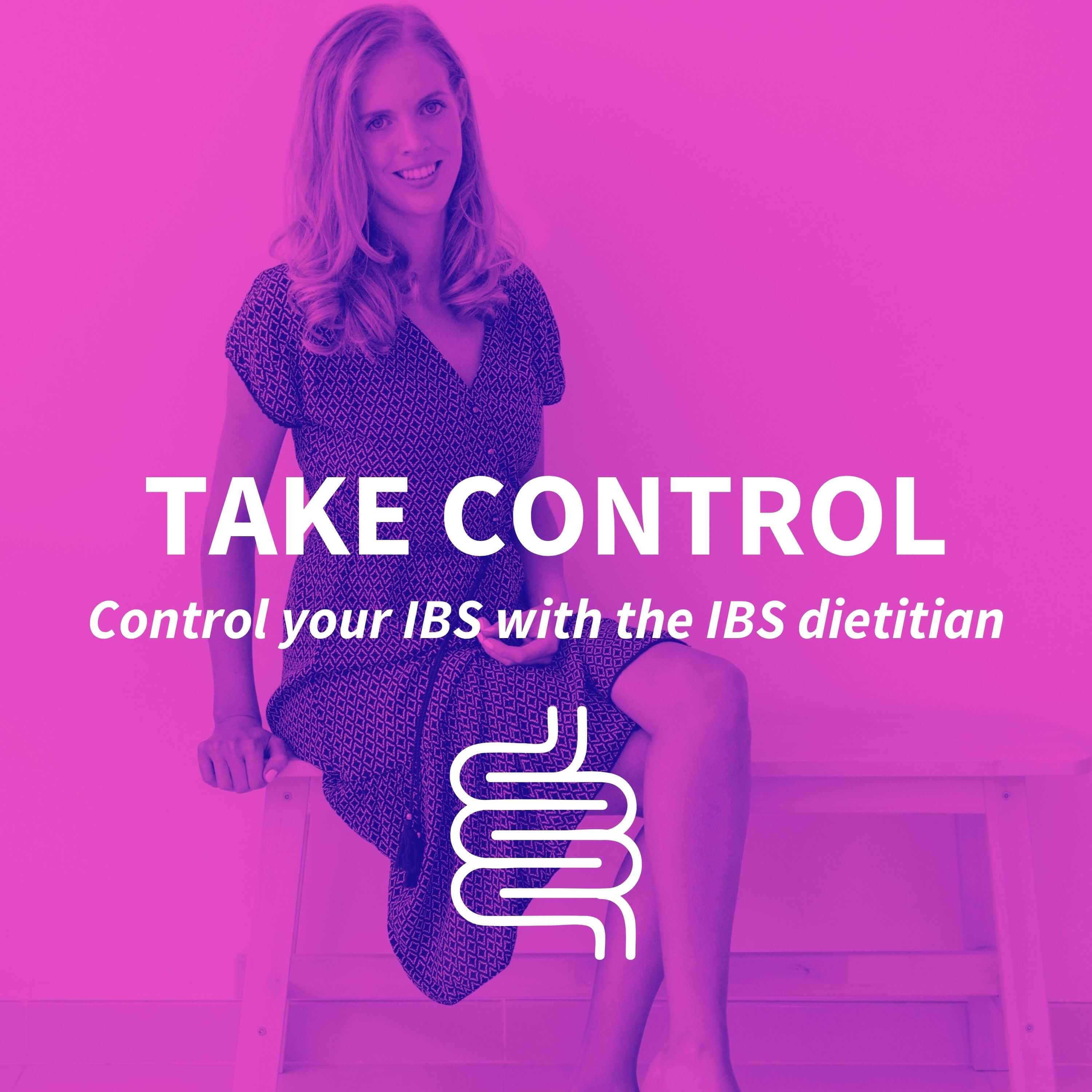 Take Control - a podcast for people with IBS show art