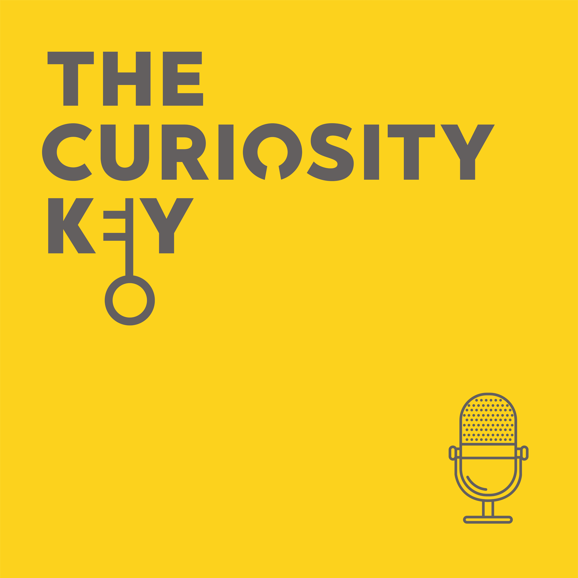 Curiosity Key - listen to innovators, change-makers and curious thinkers making the world a better place show art